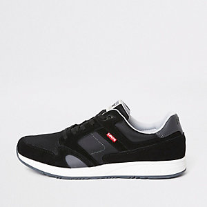 Levi's black Sutter trainers