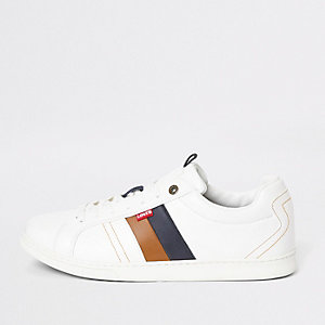 Levi's – Tulare – Weiße Sneakers