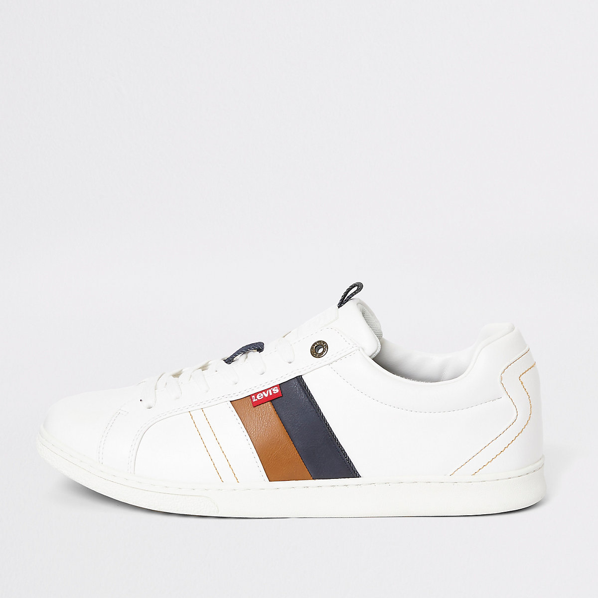 Levi's white Tulare trainers