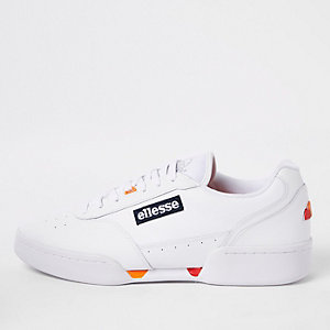 Ellesse- Witte Piacentino sneakers van leer