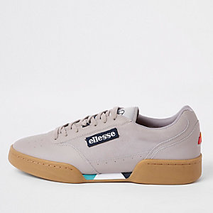 Ellesse - Grijze Piacentino sneakers van leer