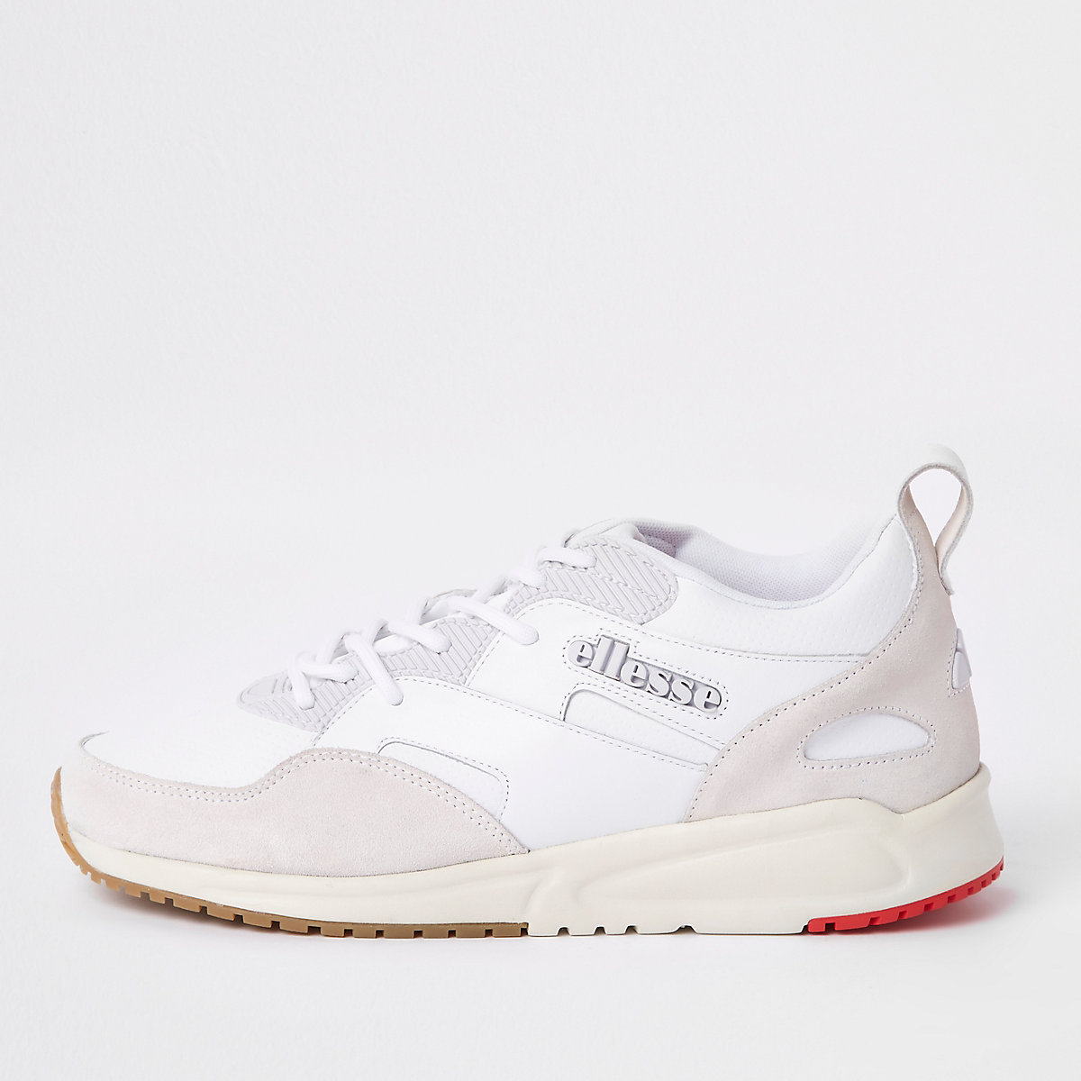 Ellesse white Potenza leather sneakers