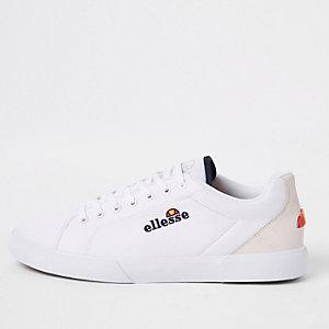 Ellesse - Witte Taggia sneakers van canvas