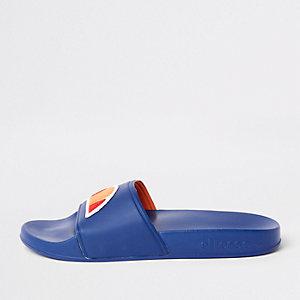 Ellesse – Claquettes bleues