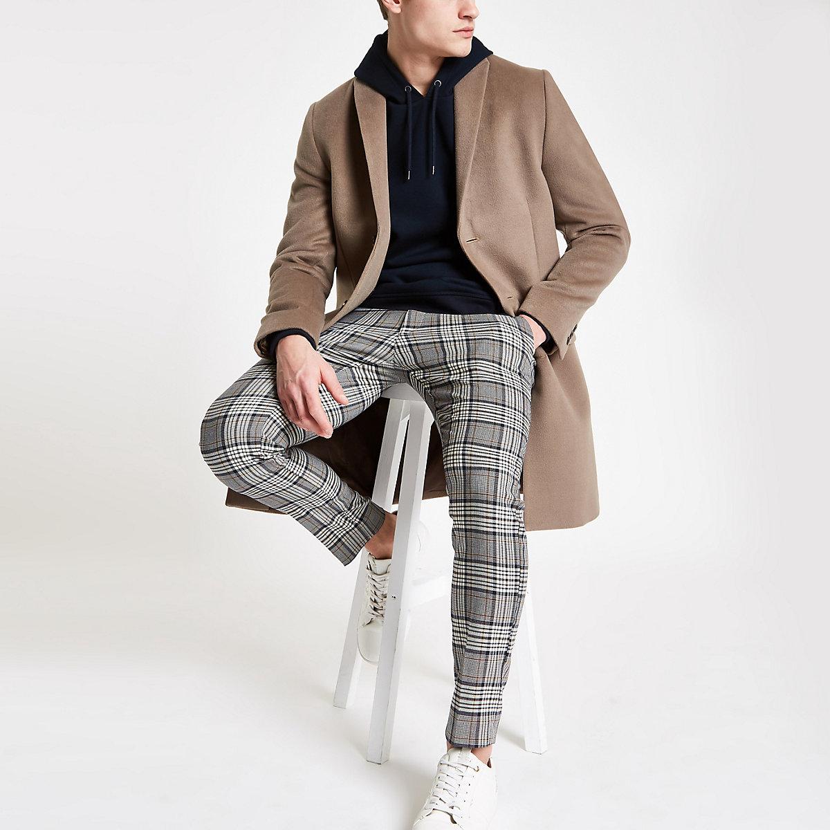 Light brown smart overcoat