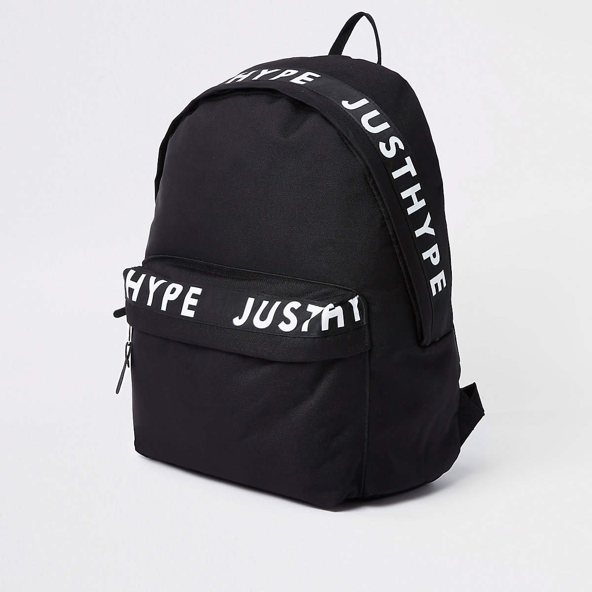 Hype black  just hype  tape backpack - Backpacks   Rucksacks - Bags ... 0e336ec28dc22