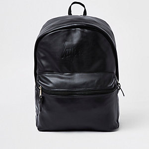 Hype ‒ Sac à dos en cuir synthétique noir