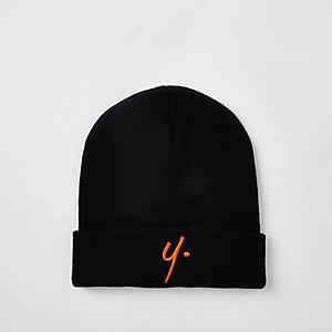 Year Dot – Bonnet en maille noir