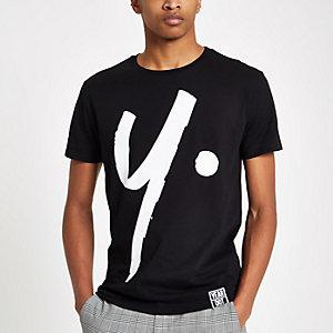 Year Dot – T-shirtnoir à logoimprimé