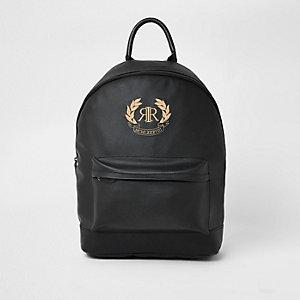 Sac à dos noir avec logo RI brodé