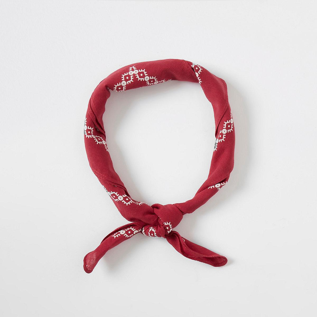 Levi's red bandana