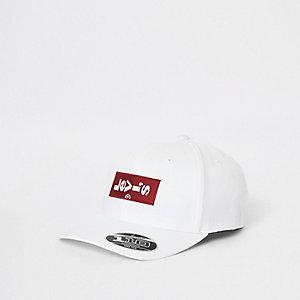 Levi's – Weiße Kappe