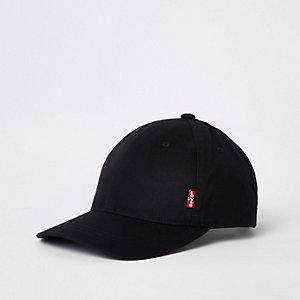 Levi's black classic twill baseball cap