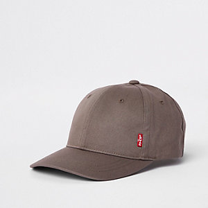 Levi's grey classic twill baseball cap