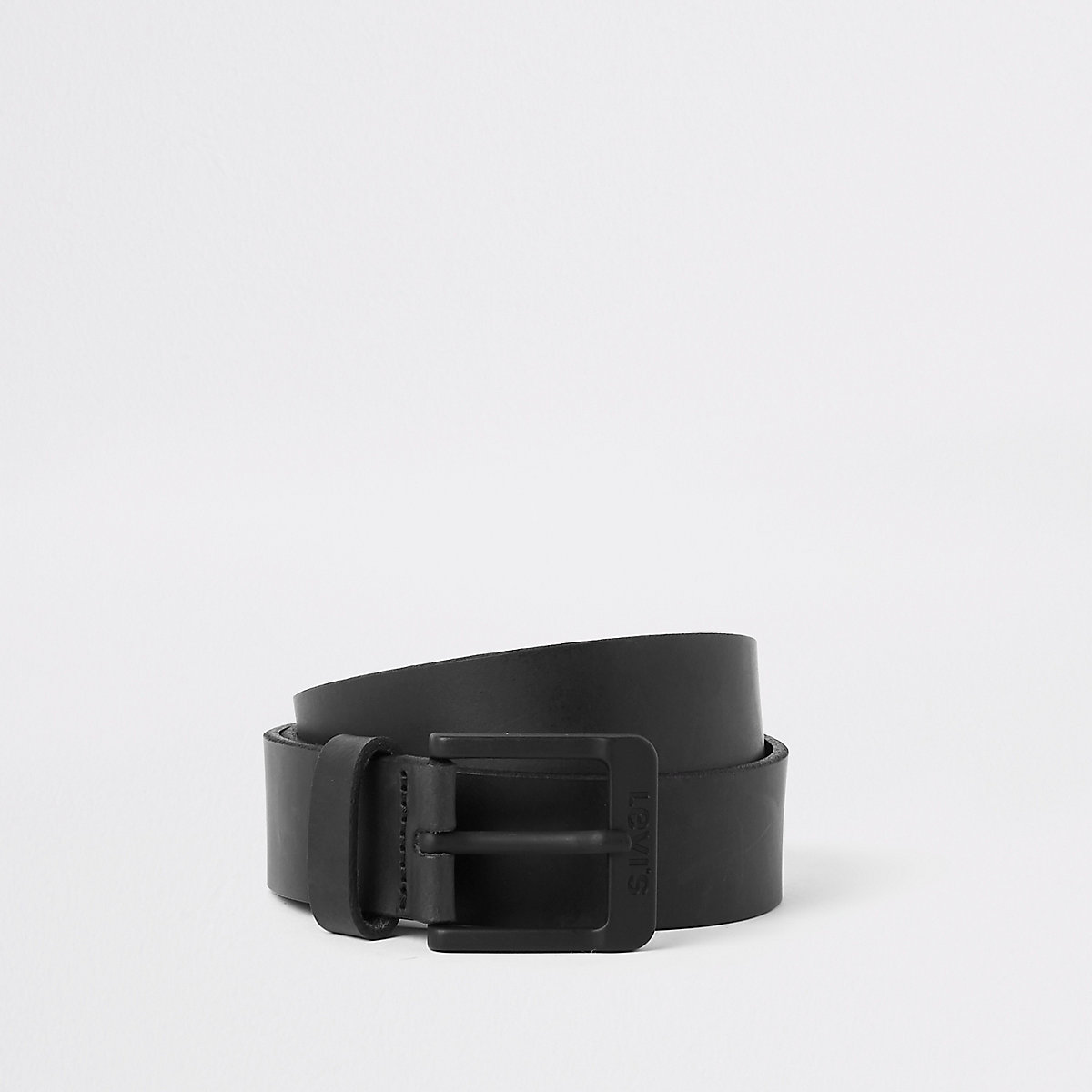 Levi's black buckle leather belt