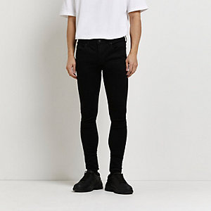Ollie - Zwarte spray-on skinny jeans