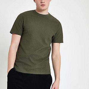Slim Fit T-Shirt in Khaki