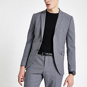 Selected Homme – Veste de costume ajustée grise