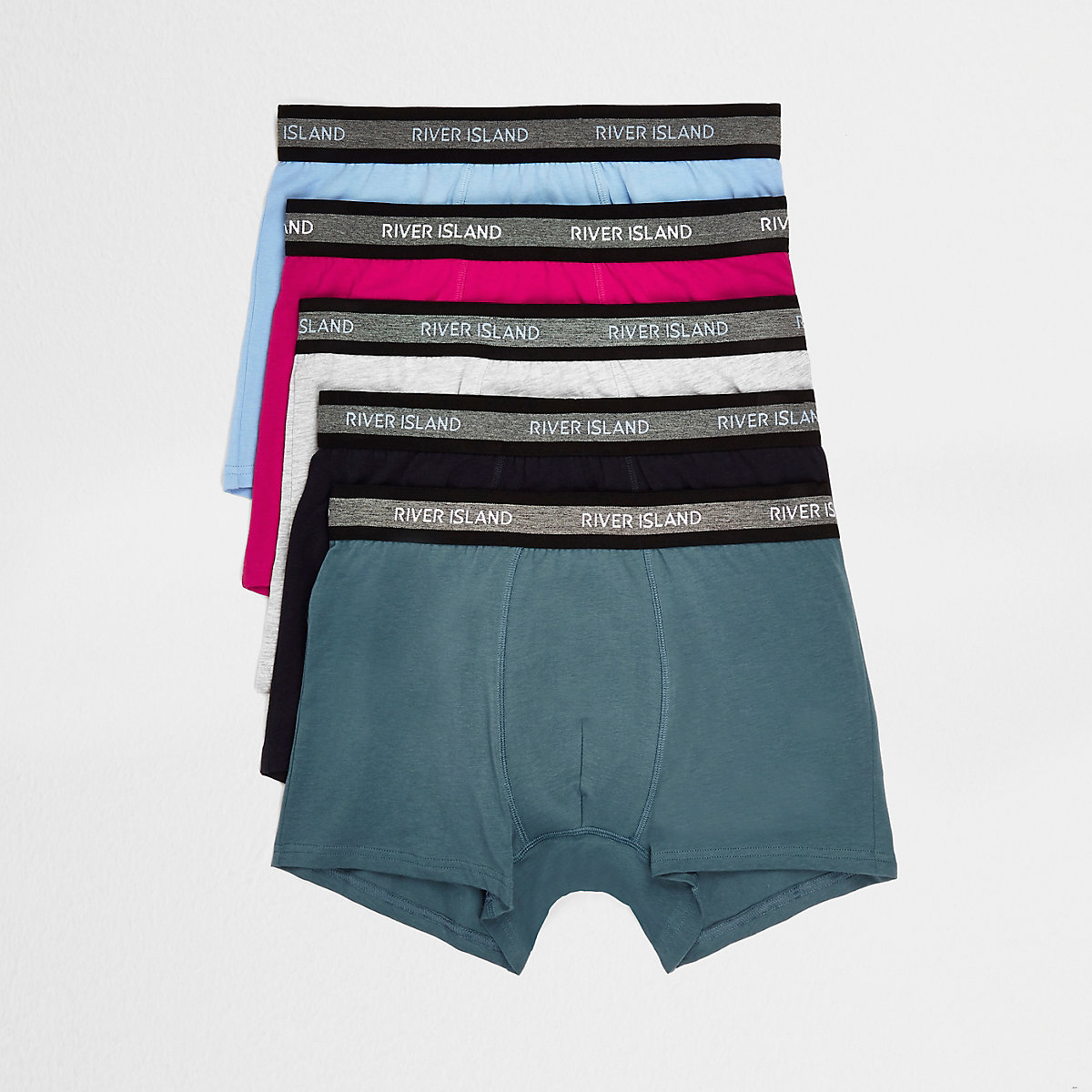 Pink multicoloured trunks 5 pack