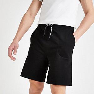 Only & Sons – Short en jersey noir