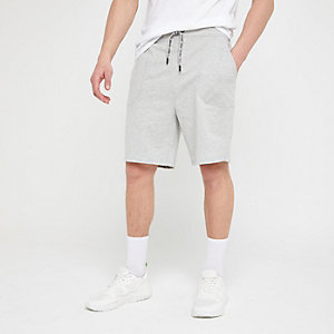 Only & Sons grey jersey shorts
