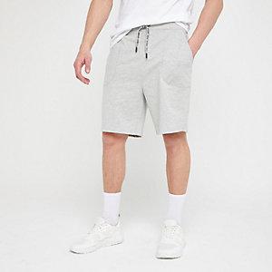 Only & Sons – Short en jersey gris
