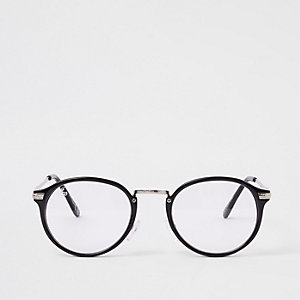 Jeepers Peepers – Lunettes noires à verres transparents