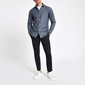 Selected Homme – Dunkelblaues Hemd
