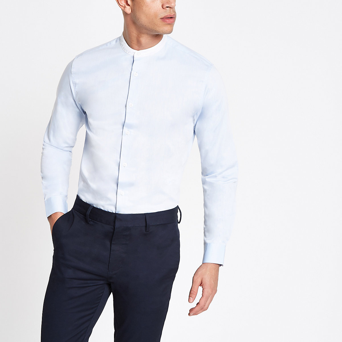 Selected Homme organic cotton blue shirt