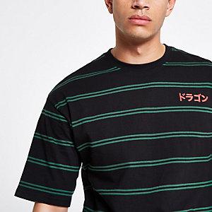 Only & Sons black stripe T-shirt