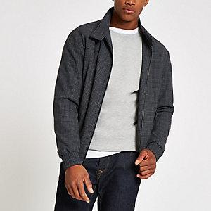 Selected Homme grey Harrington jacket