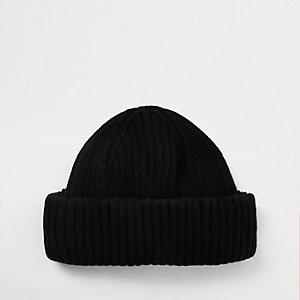 Mini bonnet noir style pêcheur
