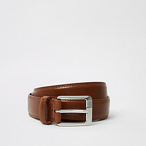 Big and Tall – Ceinture marron à ceinture
