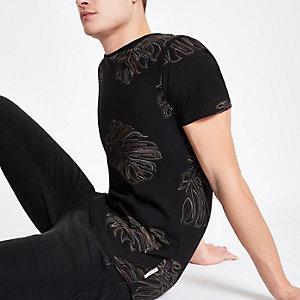 Bellfield fern print T-shirt