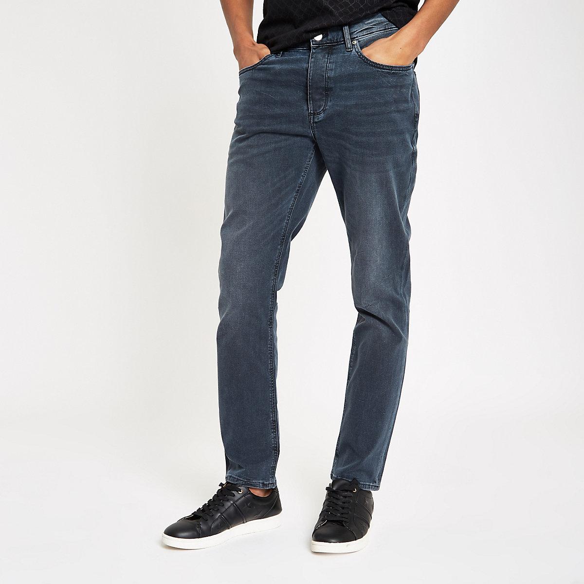 Dark blue Dylan slim fit jeans
