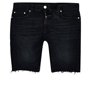 Big and Tall – Short skinny bleu noir