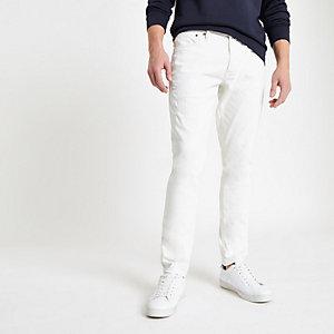 Pepe Jeans Stanley - Ecru smaltoelopende jeans