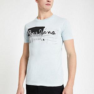 Pepe Jeans – T-shirt vert clair