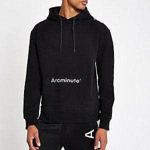 Arcminute – Sweat à capuche noir