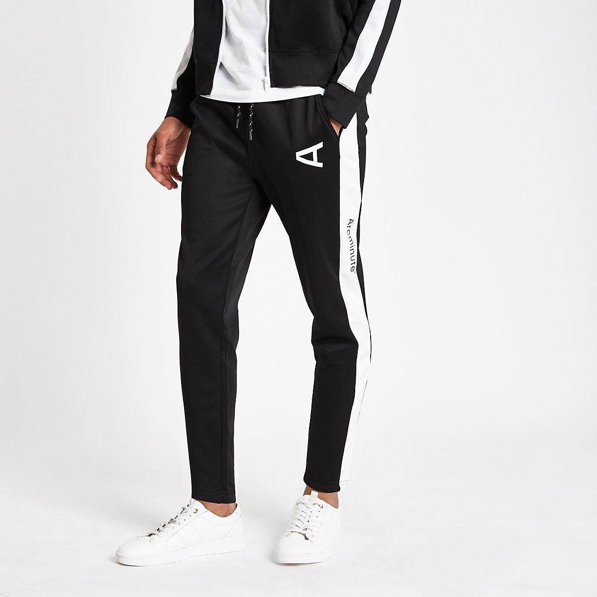 Arcminute – Schwarze Jogginghose mit Logo