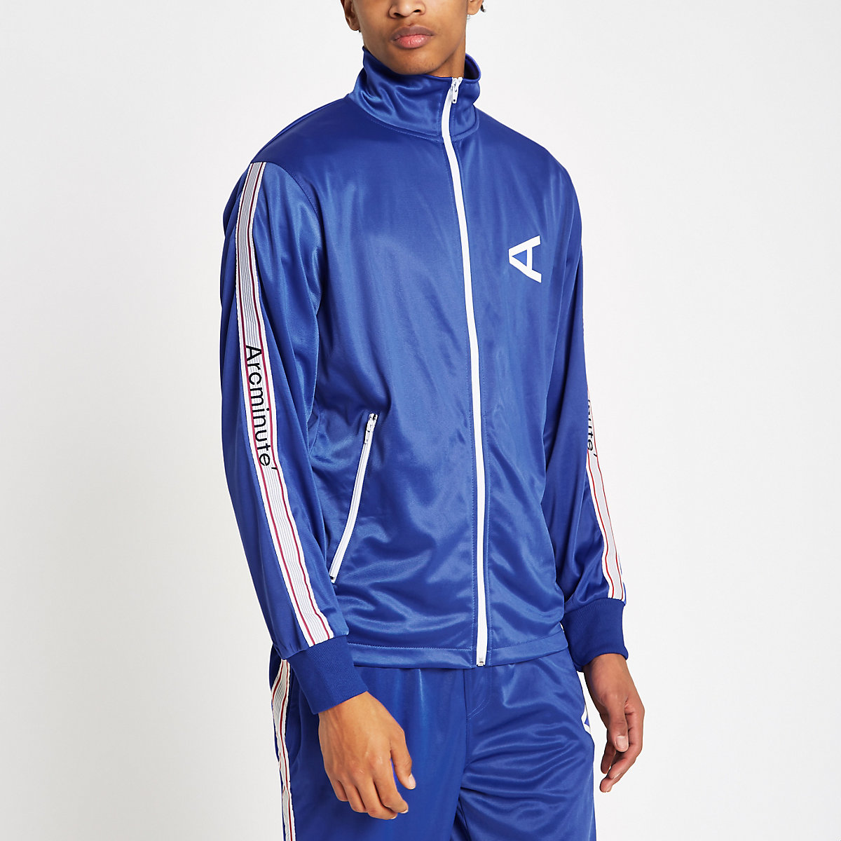 Arcminute blue tape side track top