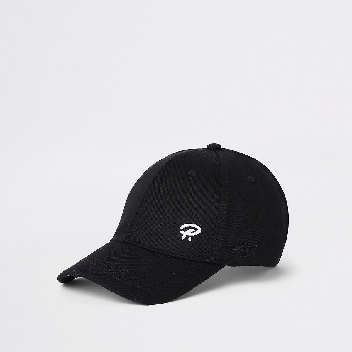 Black 'Prolific' wasp embroidery baseball cap