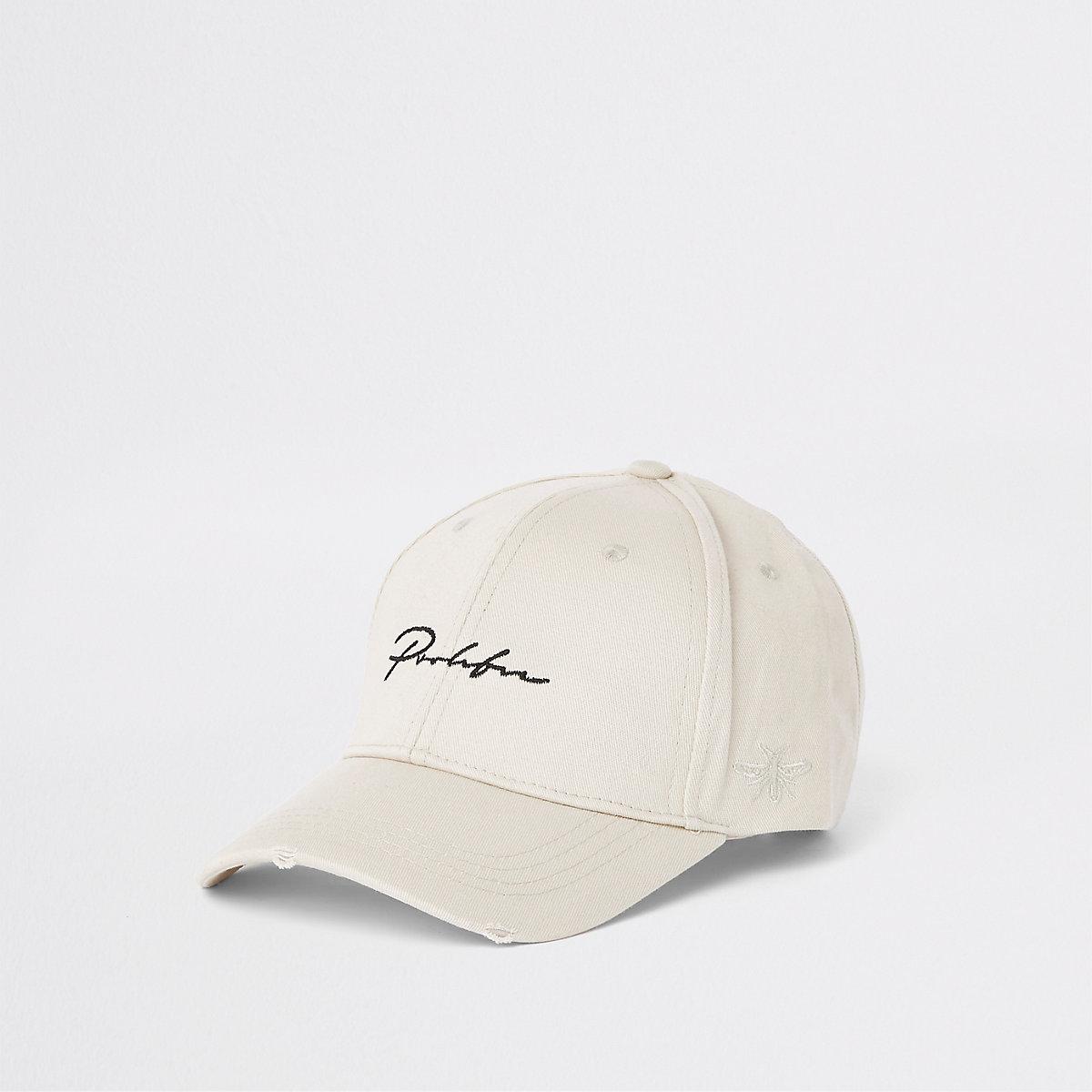 Ecru 'Prolific' wasp embroidery baseball cap