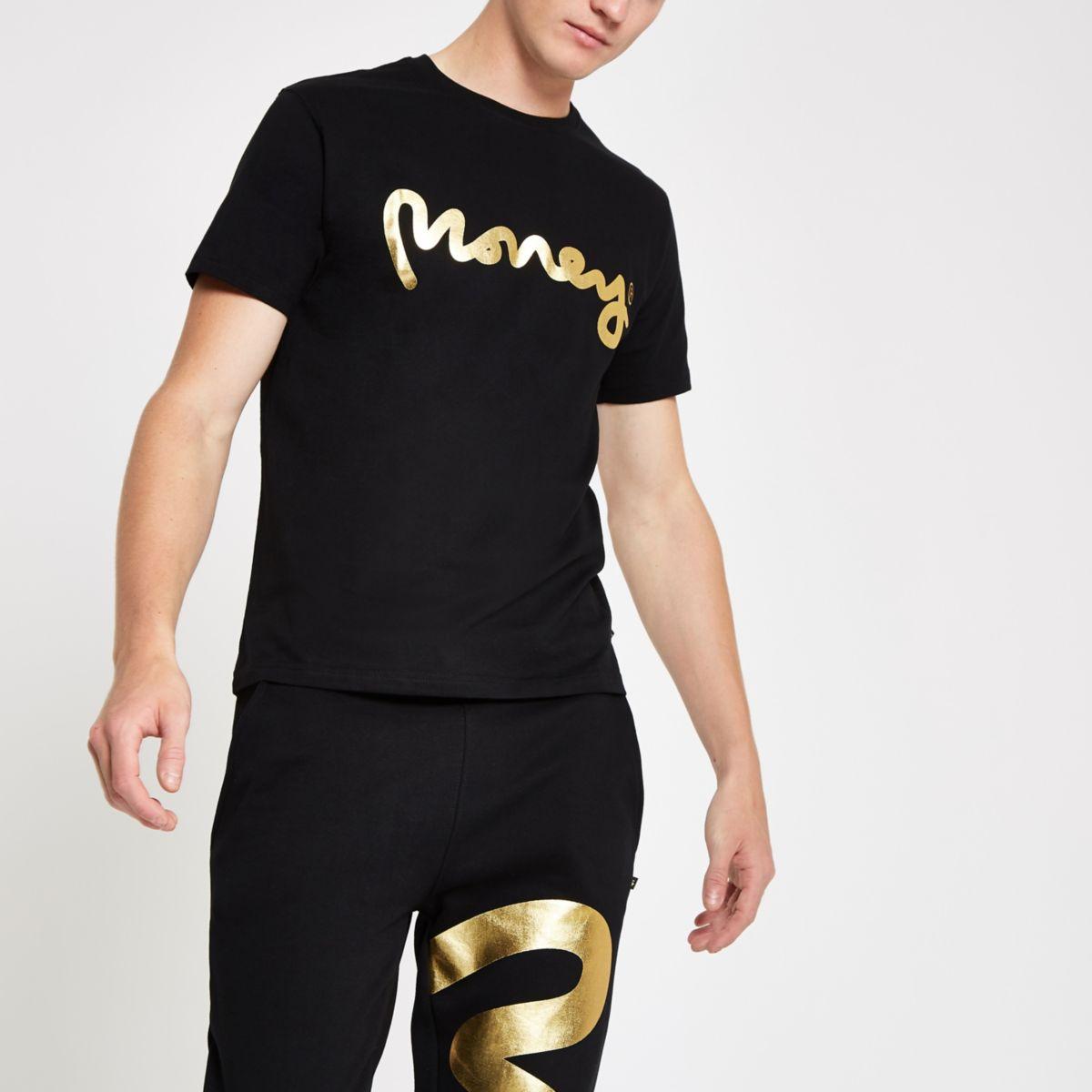 Money Clothing black logo T-shirt
