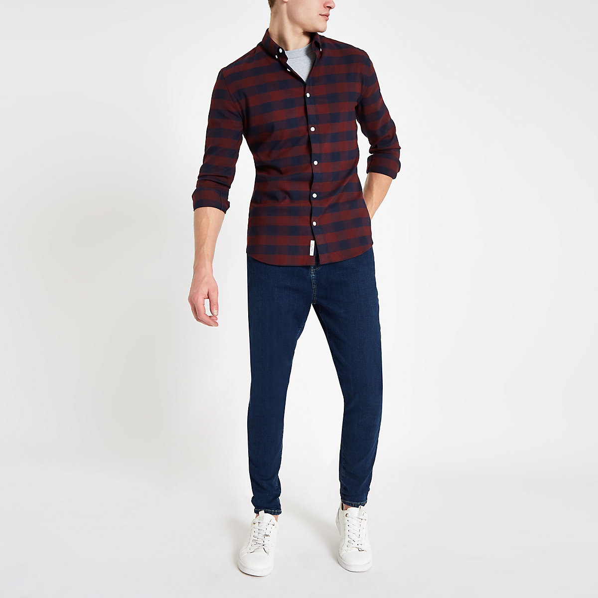 Monkee Genes dark blue super skinny jeans
