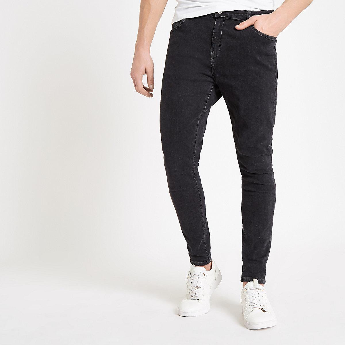 Monkee Genes black super skinny jeans