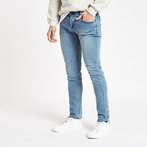 Monkee Genes – Hellblaue Skinny Jeans