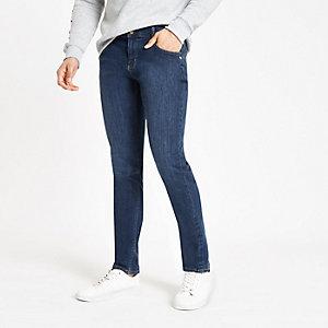 Monkee Genes – Mittelblaue Skinny Jeans