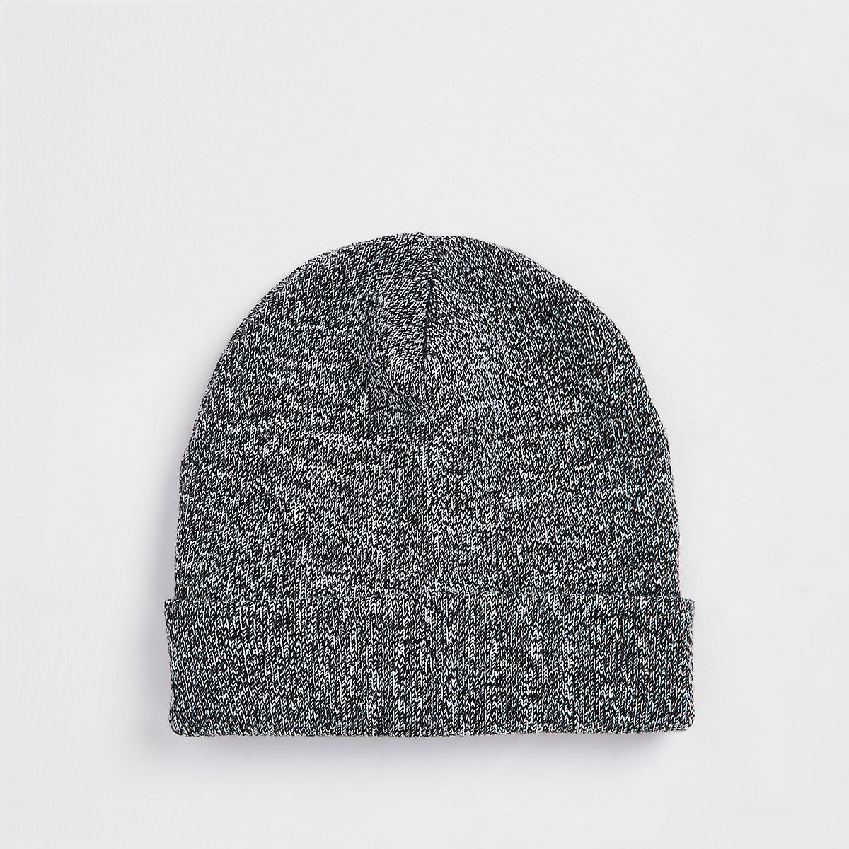 Grey slouch beanie hat - Hats   Caps - Accessories - men 5a7315f24ca