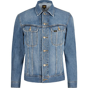 Lee Big and Tall blue denim jacket
